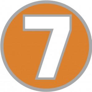 7 Kart circle logo