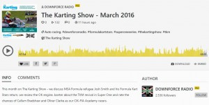 Downforce Radio - March 2016