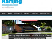 Karting magazine announce RHPK Round 1 Team