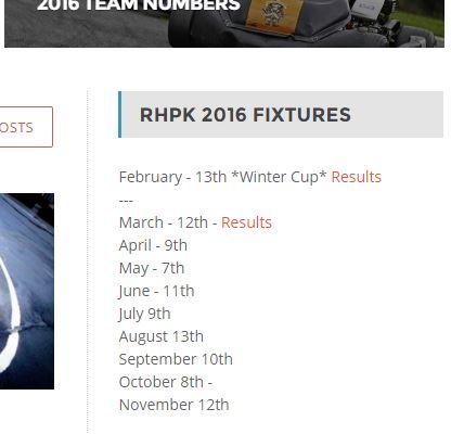 RHPK Dates