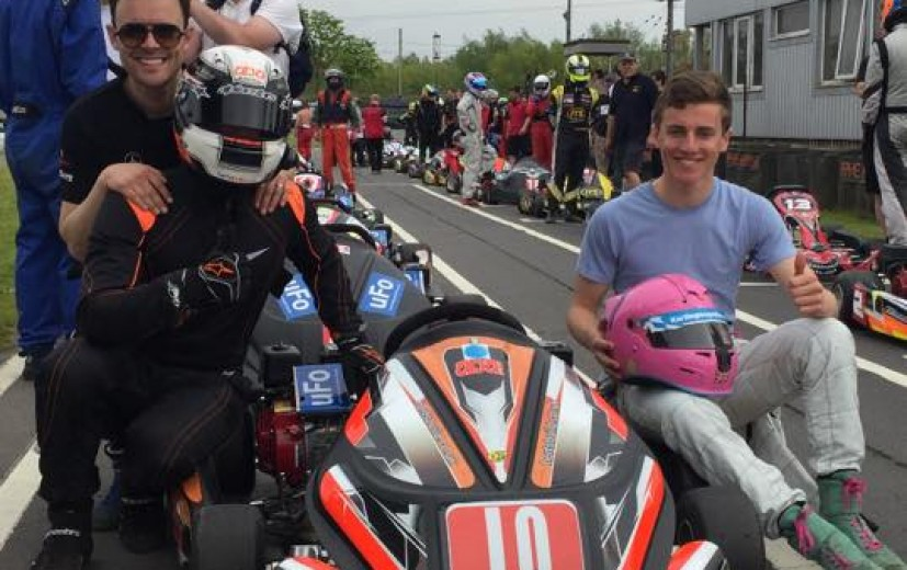 Piers Prior joined ABA Racing for May