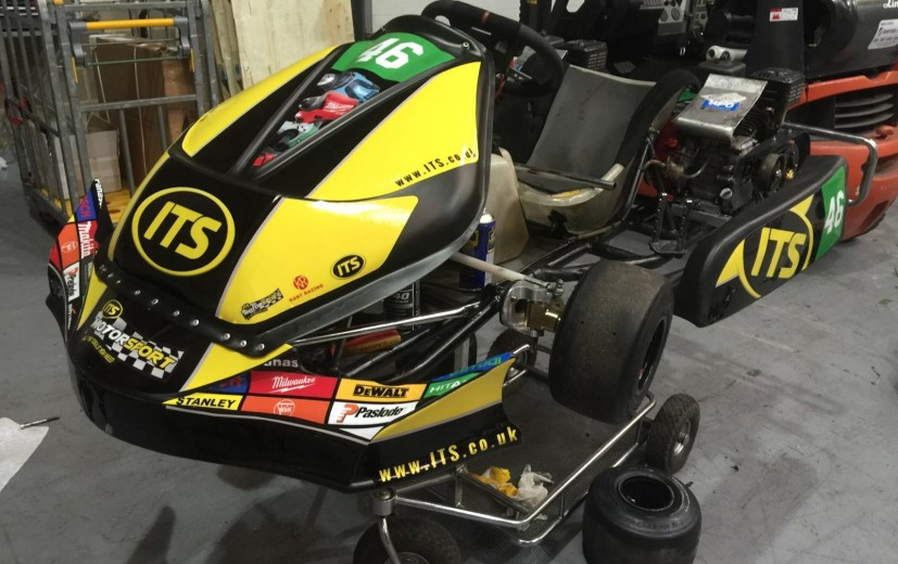 A exclusive look at the brand new ITS Racing Livery this month