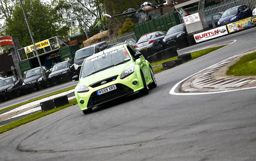 Burton's Focus RS at Rye.
