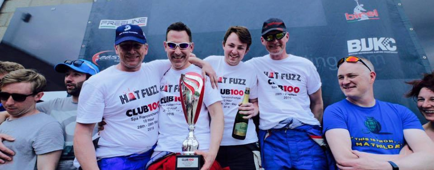 RHPK's Hotfuzz : Class Champions at Spa Club100