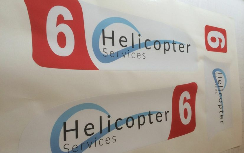 For the first time in 10 years... Helicopter Services will be sporting a livery in July!