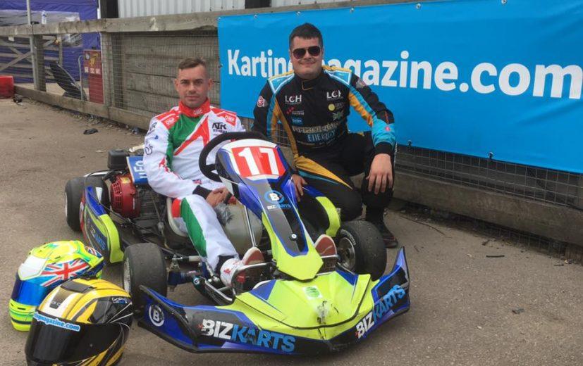 Team Karting Magazine July - Colin Brown & Lee Henderson