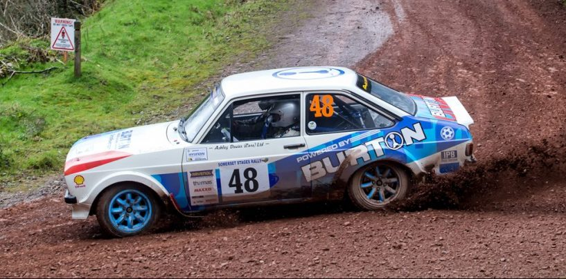 RHPK Round 8 Pace Car – Burton Powered Rally Escort