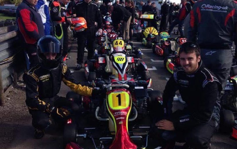 Team Titian on the grid at Clay, EPS