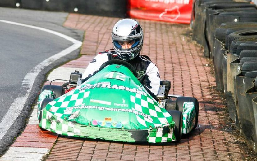 Ben racing in RHPK back in 2014