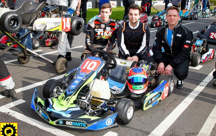 Luke Cousins back racing for Team Karting Magazine
