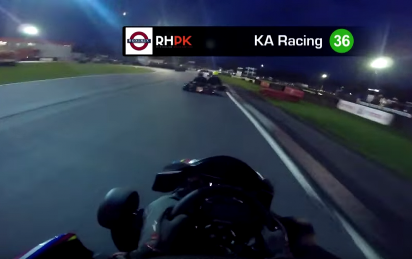 KA Racing on board footage in Round 1 on Motorsport TV