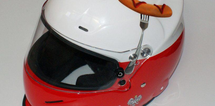 Polish Lambo's Sausage Inspired Helmet