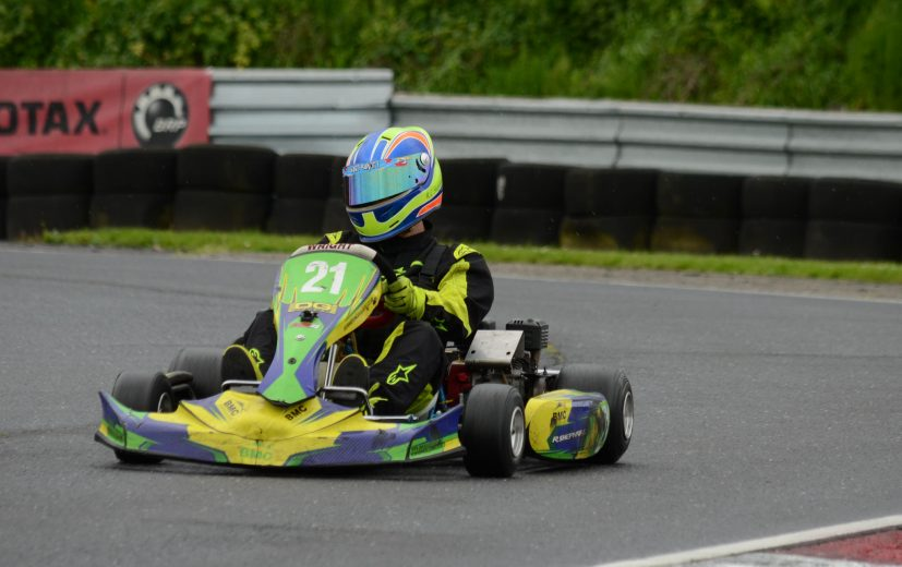 Reece racing in EPS
