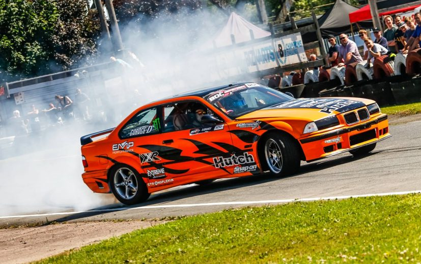 Danny Grundy, Drift Champion was down in his BMW
