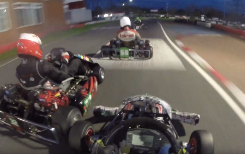 Onboard from JND Racing as the races falls into dusk