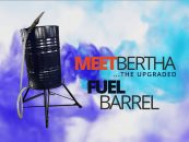 Our upgraded Fuel Barrel