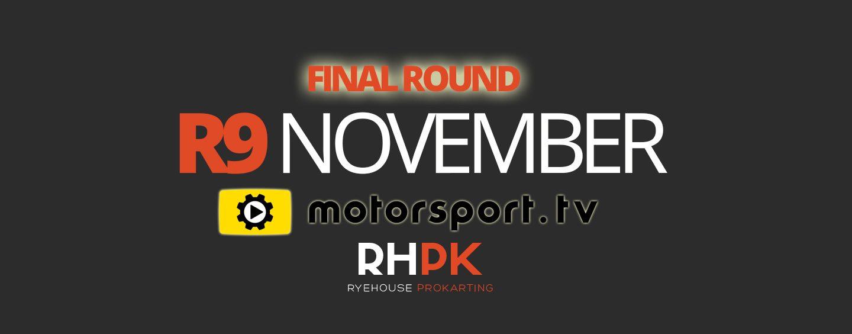 Round 9 – 11th November 2017 Itinerary
