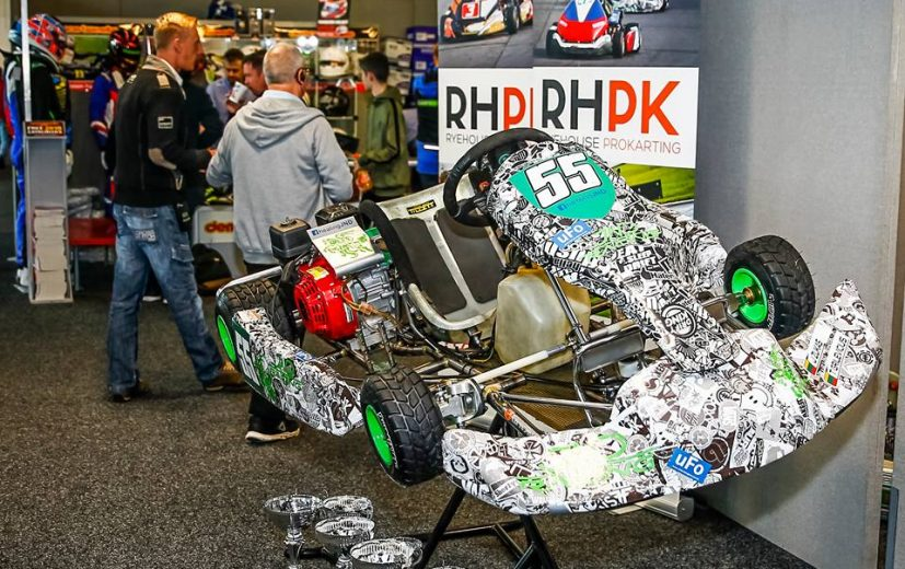 JND Racing on the stand