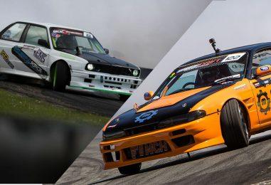 Round 2 – April Pace Car, Danny Grundy & Aurimas vaškelis Drift Display